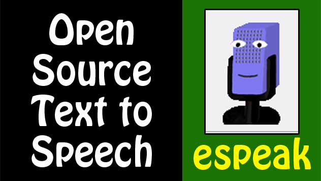 how to use espeak