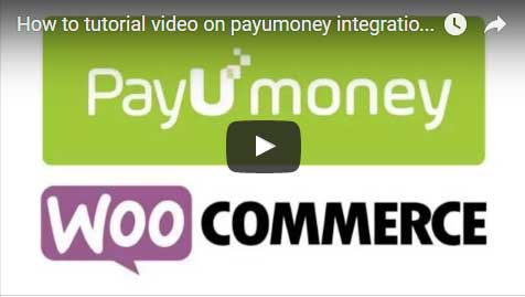 payumoney integration with woocommerce