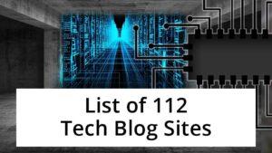 list of tech blogs sites