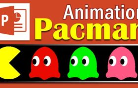 How to create Pacman animation in PowerPoint and Photoshop