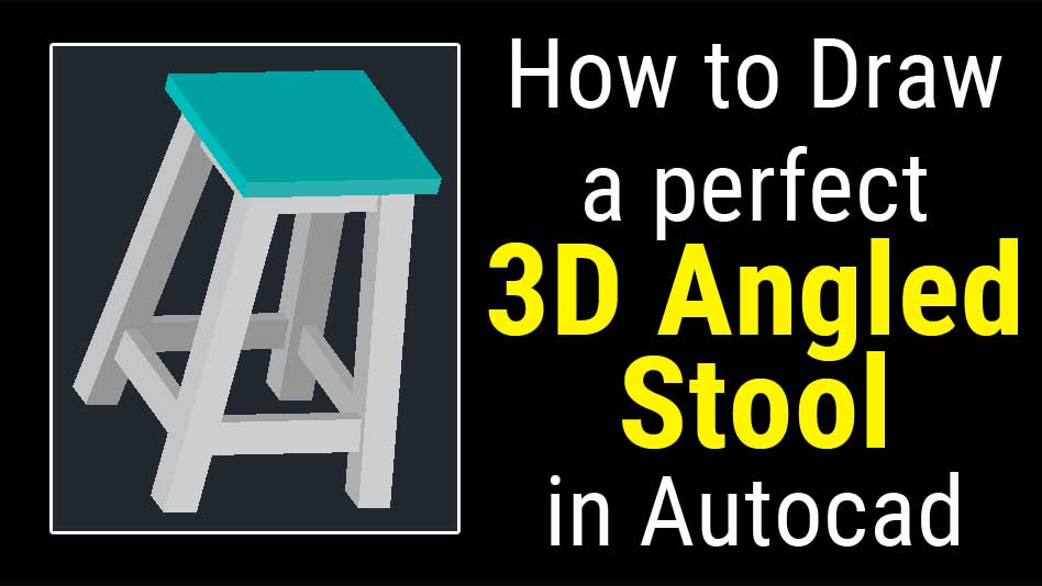 autocad 3d modeling basic tutorial video for beginner