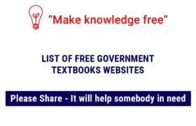 Free Government Textbooks