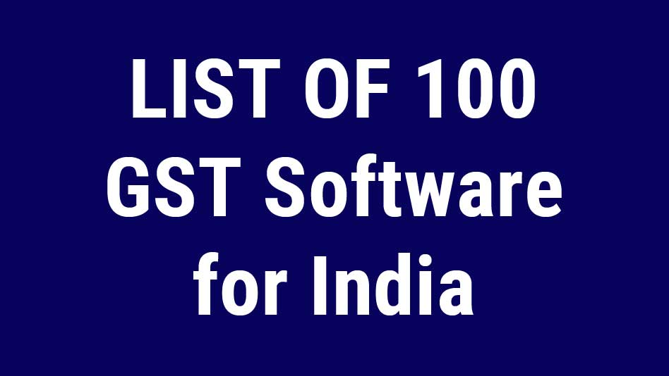GST Software India
