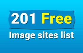 Free image siteS list - Free image sites like Pixabay