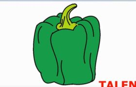 How to draw Capsicum in MS Paint