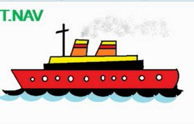 How to Draw Ship in MS Paint - Microsoft Paint Tutorial