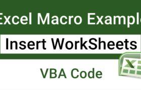 Excel Macro Example