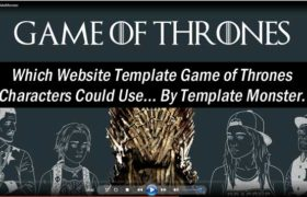 Game of Thrones Website Template