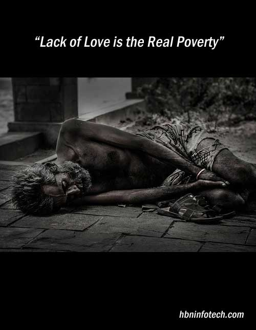 love and poverty quotes images