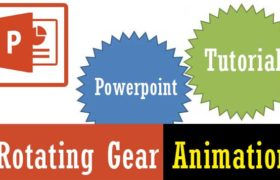 rotating gear animation In powerpoint