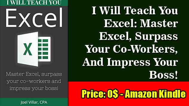 i will teach you excel master excel surpass your coworkers and impress your boss