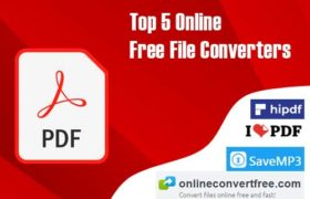 List of Top 5 Online Free File Converters