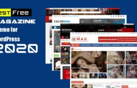 Best Free Magazine Theme for WordPress 2020