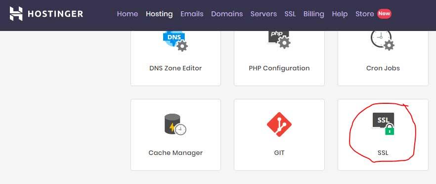 free ssl certificate installation in hostinger using sslforfree and zerossl
