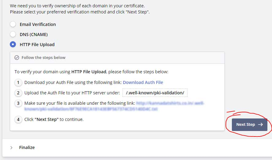 website free ssl and certificate