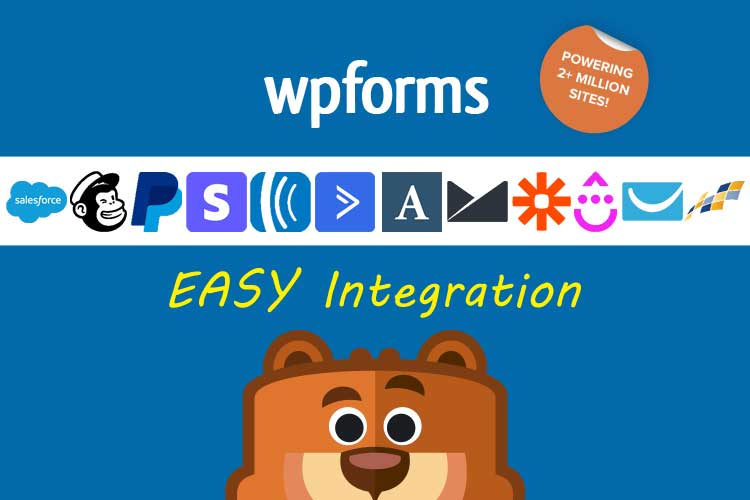 14 Reasons WPForms Is The Best Form Builder - Easy Integration with a number of Popular Apps