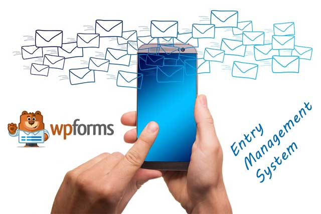 WPforms helps Manage and streamline your leads with the help of Entry Management feature