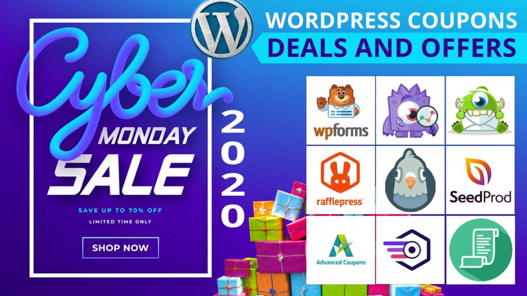 WordPress Cyber Monday 2020 - WordPress Coupons and Deals