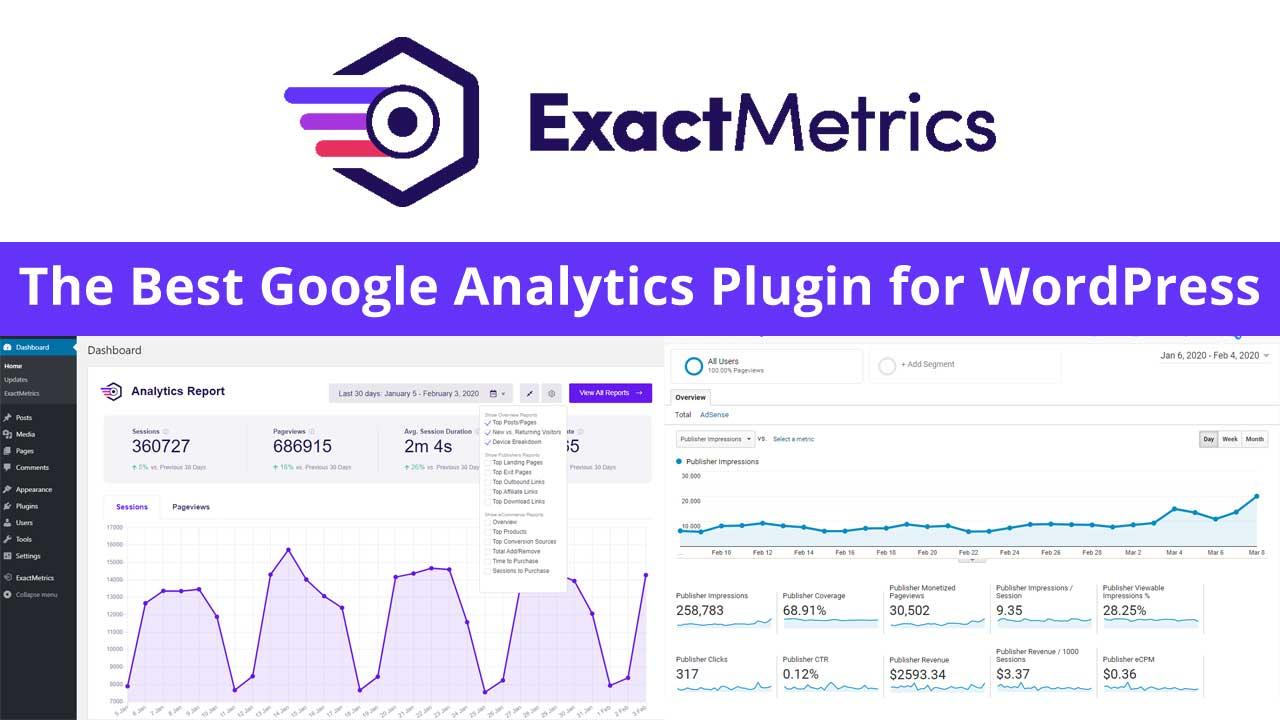 ExactMetrics - The Best Google Analytics Plugin for WordPress