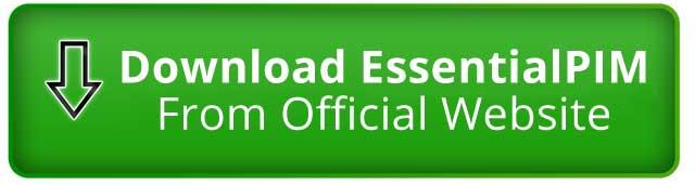 Download EssentialPIM The Best Personal Information Management Software