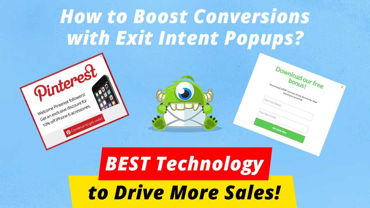 How to Boost Conversions with Exit Intent Popups