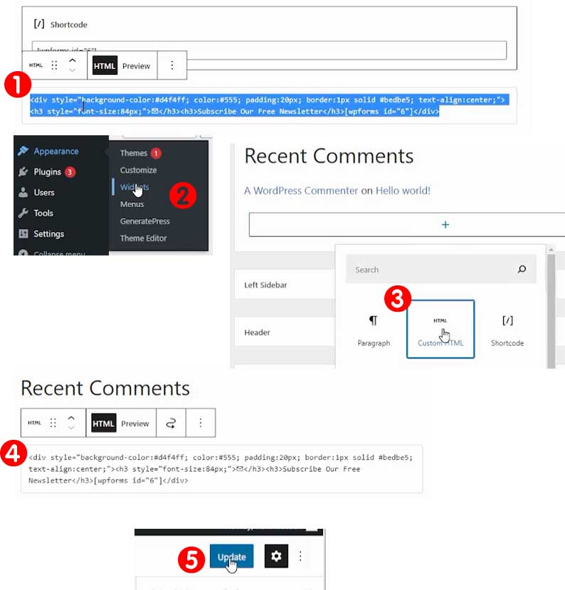 Create Attractive Newsletter Subscription Form Using WPForms